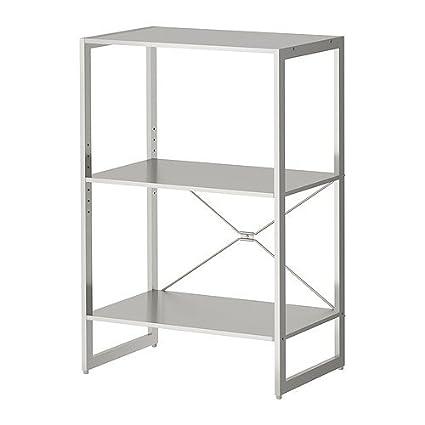 IKEA LIMHAMN -Regal aus Edelstahl - 89x60x35 cm: Amazon.de ...