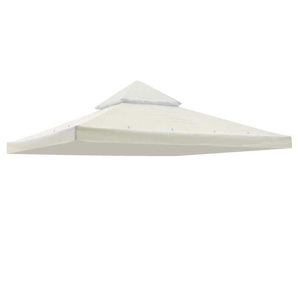 Amazon.com 10u0027 X 10u0027 Gazebo Replacement Canopy Top Cover - Beige Double-teir Garden u0026 Outdoor  sc 1 st  Amazon.com : canopy top replacement - memphite.com
