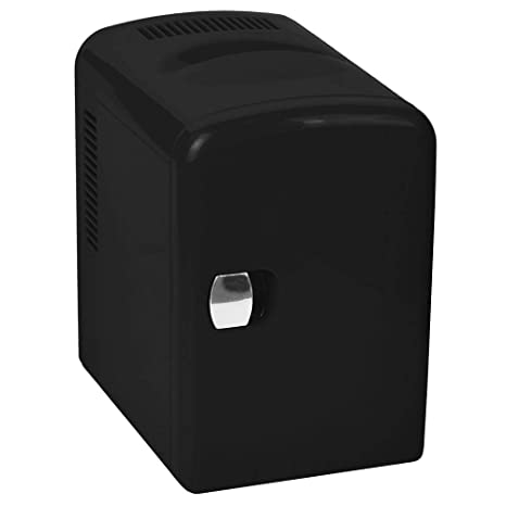 Silver Ice AR5I04 - Mini Nevera (58 W, 4 l), Color Negro: Amazon ...