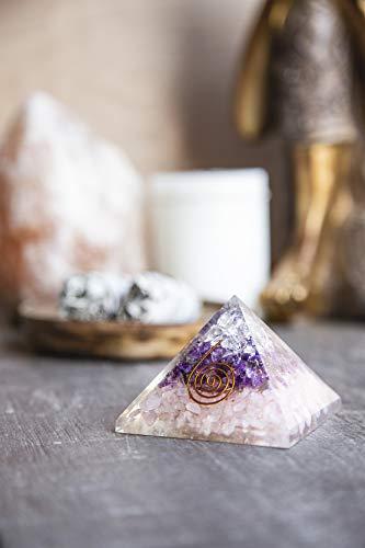 quartz crystal pyramid - 4