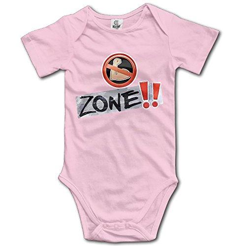 Rae Sremmurd No Flex Zone Baby Romper Short Sleeve Babysuit Baby Onesie For Boy Girl Pink 12 Months (Baby Alive Ballerina)
