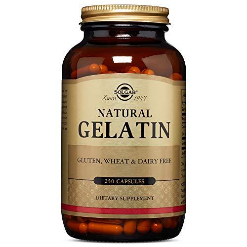 Solgar - Natural Gelatin, 250 Capsules