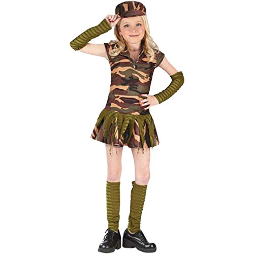 Army Brat Halloween Costume (Child's Army Brat Halloween Costume (Large)