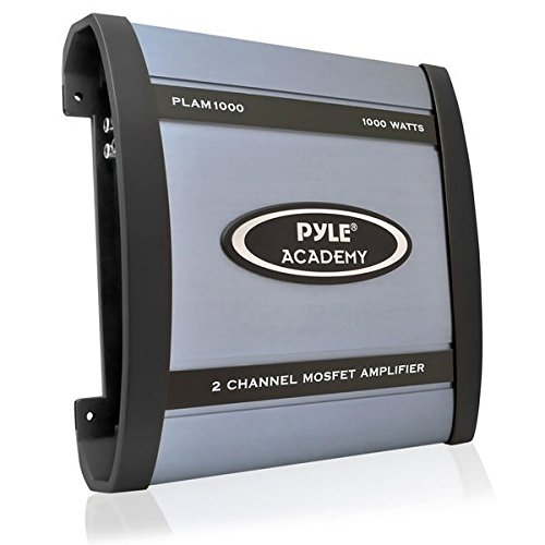 Pyle PLAM1000 1,000-Watt 2-Channel Bridgeable Amplifier ()