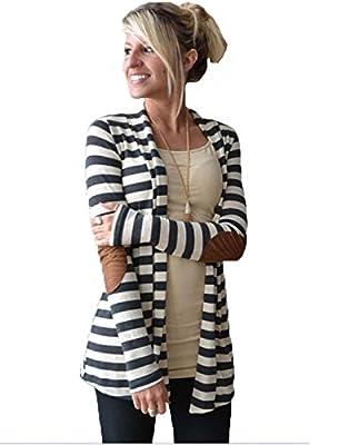 Dreagal Womens Cardigan Batwing Jacket Hooded Casual Stylish Loose Coat