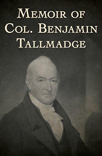 Memoir of Col. Benjamin Tallmadge for $<!---->