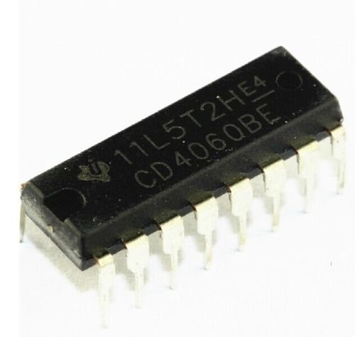Texas Instruments CD4060BE CMOS 14-Stage Ripple-Carry Binary Counter/Divider and Oscillator (Pack of -
