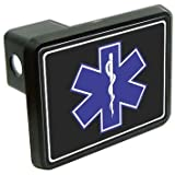 "Star of life EMT rescue RN 2"" Tow Trailer Hitch Cover Plug Truck Pickup RV"