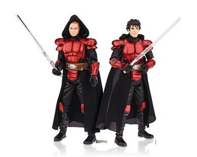 Star Wars Clone Wars Action Figure Comic 2-Pack Dark Horse: Legacy #6 Imperial Knights Antares Draco and Ganner
