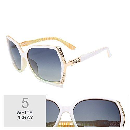 De Mujer Sol De Blanco Trajes Gafas Uv400 Sol Gafas Gafas Polarizadas Mujer Mariposa Estilo Hd Gafas TIANLIANG04 White tqwUEdWw