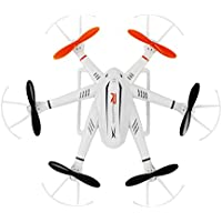 Remote-controlled Rechargeable Six-motor Airplane Rotatable Motor Arm Drone 4 Channels 6 Axis Gyro 2.4 Ghz
