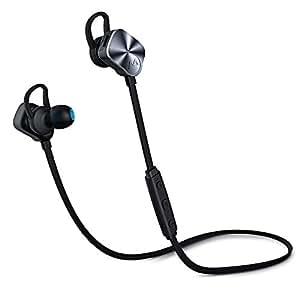 Mpow Wolverine Auriculares Bluetooth V4.1Wireless Deporte auriculares in-ear con cancelación de ruido auriculares estéreo 8horas de tiempo de reproducción con micrófono para running correr Ejercicio