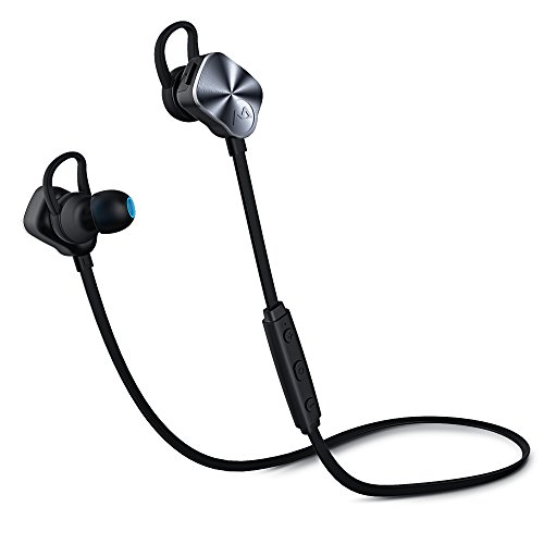 Mpow Wolverine Bluetooth v4.1 Wireless Stereo Headphone Sweat-proof Sport & Leisure Earbuds Earphones Hands-free Calling Headset, CVC 6.0 for iPhone 6s 6 plus 5s, Samsung Galaxy S6 S5 S4, IOS & Android Smart phones