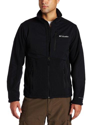 Columbia Men's Ballistic II Fleece Extended Jacket, Black, 2X
