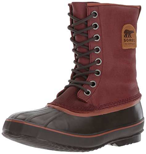 Sorel Men's 1964 Premium T CVS Snow Boot, Spice, Dark Banana, 10.5 D US