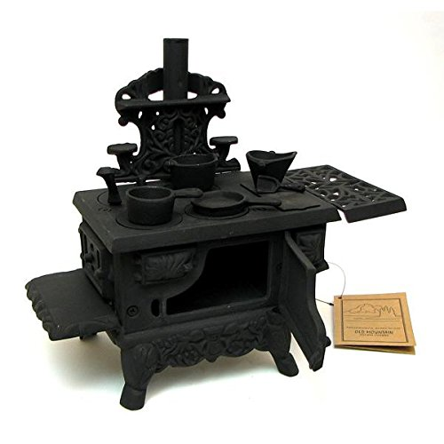 - Old Mountain Black Mini Wood Cook Stove