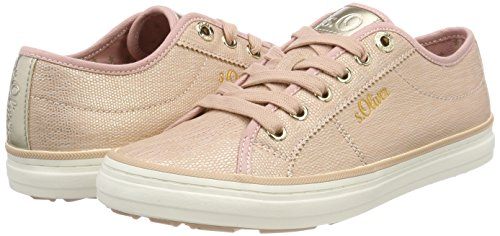 S rose gold Trainers 23640 Women''s oliver Pink xXraHx0w