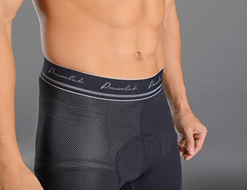 Przewalski Mens Cycling Underwear Shorts 3D Padded Bike Bicycle Riding MTB Liner