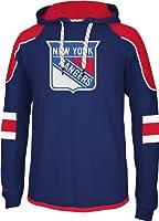 NHL New York Rangers Men's Edge Team Hooded Jersey