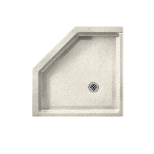 - Swanstone SS-36NEO-058  Shower Base with Corner Drain, Tahiti Matrix