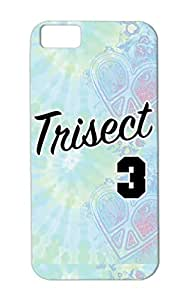 TPU Silver Sports Basketball Trisect Hardwood Classic For Iphone 5c Drop Resistant Case