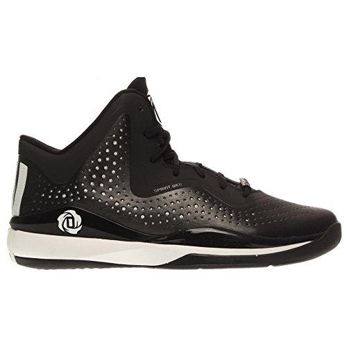 adidas D Rose 773 III hombres Basketball zapatos 11 blanco-negro blanco y negro