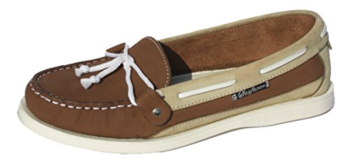Shoes ice Yachtsman Boat Stone Deck Leather Seafarer Ladies Nubuck xUwFq5Y7