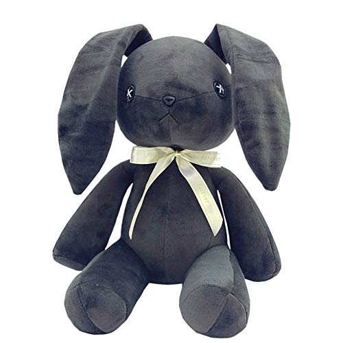 (COSPROFE Anime Yosuga no Sora Rabbit for Cosplay Bunny Plush Doll Rabbit Stuffed Animal Toys,12'' (Dark Grey))