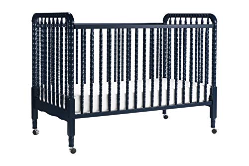 (Davinci Jenny Lind 3-in-1 Convertible Crib, Navy)