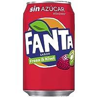 Fanta Fresa y Kiwi zero azúcar Lata
