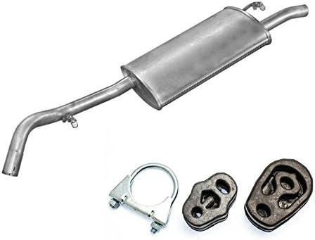 Auspuff Endschalld/ämpfer Endtopf passend f/ür das angegebene Fahrzeug ,siehe Artikelbeschreibung Montageware Neuware