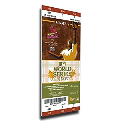 1960 World Series Canvas Mega Ticket by That's My Ticket