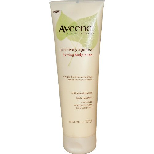 Aveeno Active Naturals Positively Ageless Firming Body Lotion 8 0 oz 227 g
