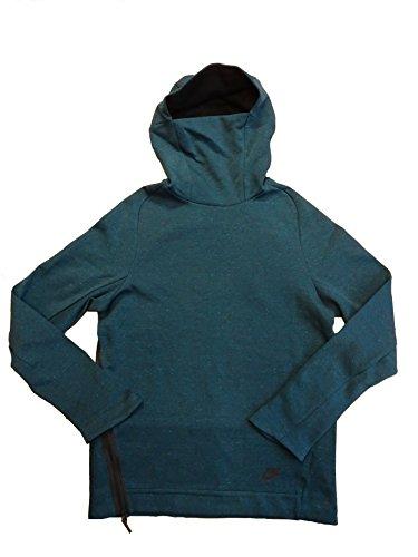 Kobe Ventilation Hood (Nike Sportswear Tech Fleece Men's Funnel-Neck Hoodie 805214-346 Size Large)