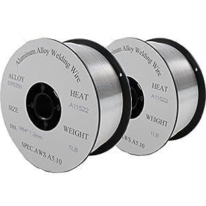 ER5356– MIG Aluminum Welding Wire – 1 Lb x 0.045″ (2 SPOOLS)