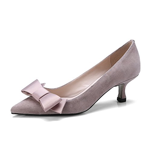 KPHY Fliege Hochhackigen Schuhe Dünn Ferse Ferse Dünn Ferse Einzelnen Schuh Mitte 5 Cm Damenschuhe. ae96ea