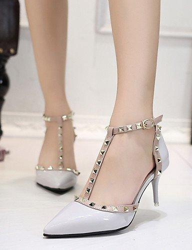 2 Puntiagudos Gris 4in tacones De boda pink Zq Rojo confort mujer Zapatos 2in 3 gray 3 Boda 4in negro Rosa vqOnBAf