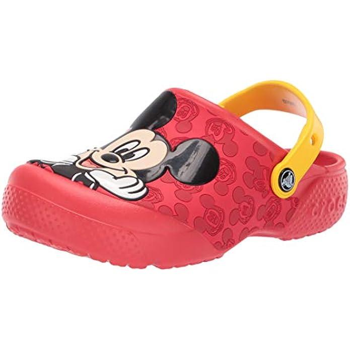 Crocs Unisex-Child Kids' Disney Clog | Mickey Minnie Mouse Shoes