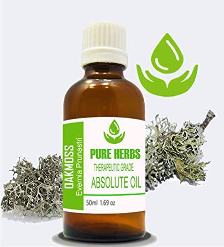 Oakmoss Pure & Natural Therapeutic Grade Evernia Prunastri Absolute Oil (50ml- 1.69 oz)