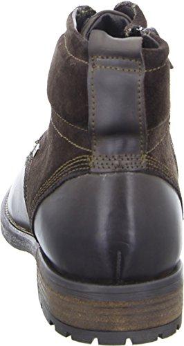 BOXX MH-094H35-S Herren Boots Leder Warmfutter Wasserabweisend Atmungsaktiv