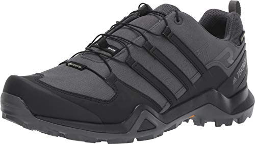 adidas outdoor Men's Terrex Swift R2 GTX Grey Six/Black/Grey Four 9.5 D US