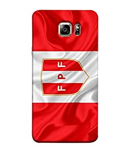 ColorKing Football Peru 09 Multi Color shell case cover for Samsung S6 Edge