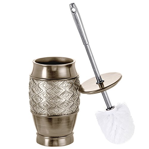 Dublin Decorative Toilet Cleaning Bowl Brush with Holder -(5