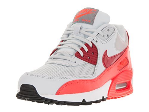 Nike Women's Air Max 90 Essential Pure Platinum/Gym Rd/Tt...