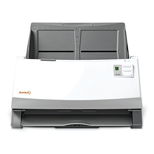 Ambir ImageScan Pro 960u (DS960-NP) 60ppm High-Speed Document Scanner with Full Version of Nuance Power PDF Software by Ambir (Image #1)'