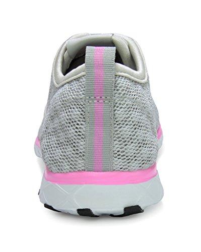 Paires De Rêve Slip Athlétique Féminin Sur Les Chaussures De Leau Lt.grey Rose