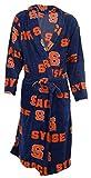 Syracuse University Orange NCAA Men's Scatter Pattern Micro Fleece Robe