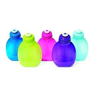 FuelBelt 7-Ounce Bottle, Purple, One Size, Pack of 2