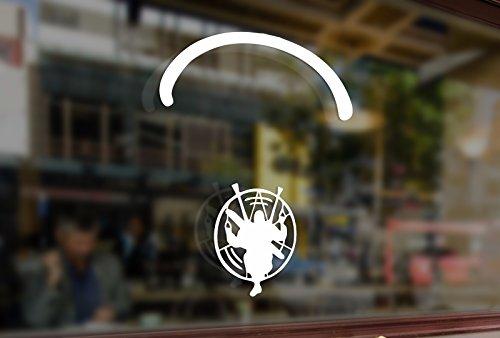 Snow White Backing Board - 25cm Paramotor flyer Paramotorist Motoparaplane Vinyl Sticker Funny Decals Bumper Car Auto Laptop Wall Window Glass Snowboard Helmet Macbook