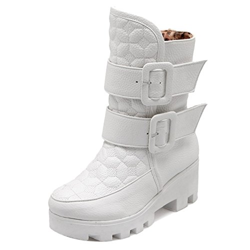 Boots Women Warm White AicciAizzi Winter H q84WTaTfS